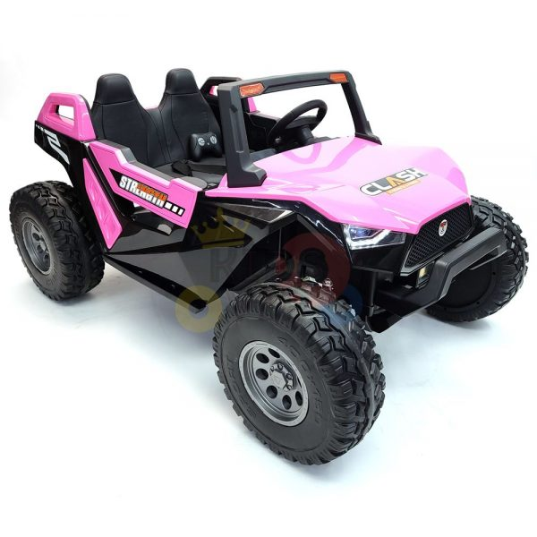 kids vip dune buggy challenger 24v sx1928 ride on kids 2 seater mp4 rubber wheels PINK 8
