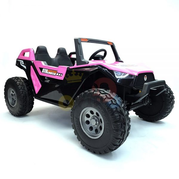 kids vip dune buggy challenger 24v sx1928 ride on kids 2 seater mp4 rubber wheels PINK 9