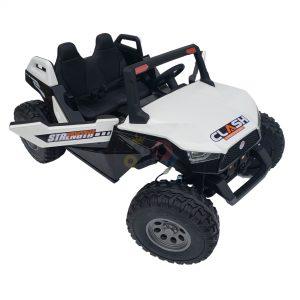 kids vip dune buggy challenger 24v sx1928 ride on kids 2 seater mp4 rubber wheels WHITE 12