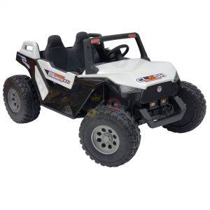 kids vip dune buggy challenger 24v sx1928 ride on kids 2 seater mp4 rubber wheels WHITE 5