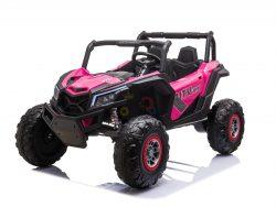 KIDSVIP XXL RIDE ON UTV BUGGY 24V XMX RUBBER WHEELS pink kids 1