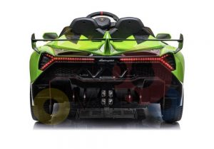 2 seats lamborghini ride on kids and toddlers ride on car 12v GREEN 14