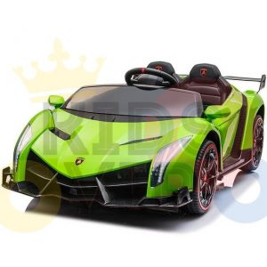 2 seats lamborghini ride on kids and toddlers ride on car 12v GREEN 15