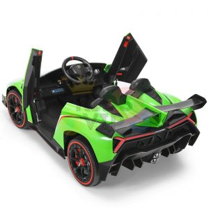 2 seats lamborghini ride on kids and toddlers ride on car 12v GREEN 16