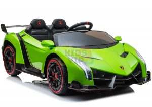 2 seats lamborghini ride on kids and toddlers ride on car 12v GREEN 5