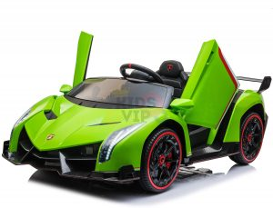 2 seats lamborghini ride on kids and toddlers ride on car 12v GREEN 7