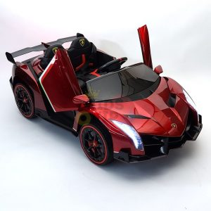 2 seats lamborghini ride on kids and toddlers ride on car 12v red 63
