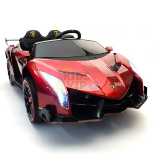 2 seats lamborghini ride on kids and toddlers ride on car 12v red 70