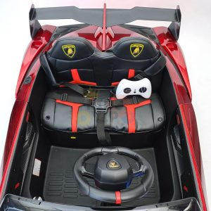 2 seats lamborghini ride on kids and toddlers ride on car 12v red 8