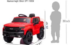 KIDSVIP_12V_CHEVROLET_SILVERADO_RIDE_ON_TRUCK_CAR_RC_LEATHER_SEAT_RED (6)